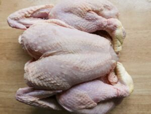 Spatchcock Chicken ready to roast