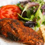 Grilled Gyros Chicken breast with salad