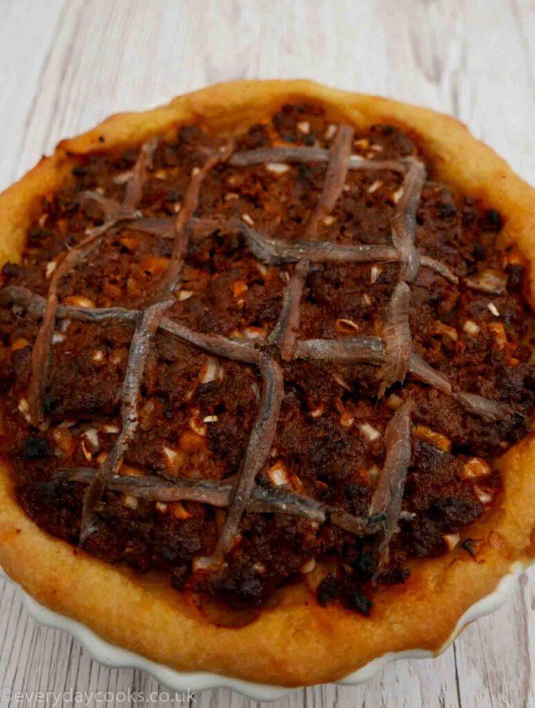 Savoury Mince Pie with Potato Pastry