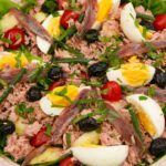 Salade Nicoise in a large bowl