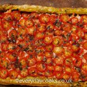 Salmon and Tomato Tart