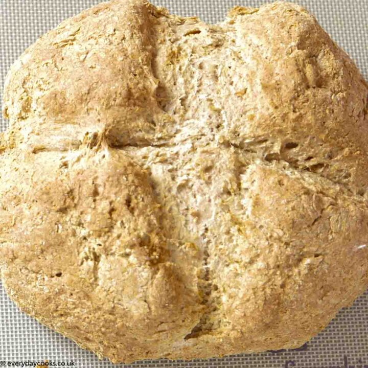 Round loaf of Irish Soda Bread