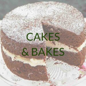 Everyday Cakes, Bakes, and Desserts