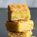 Stack of 3 White Chocolate Brownies
