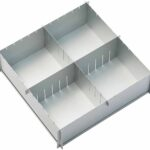 Multisize Cake Tin with 2 dividers