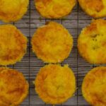 9 Breakfast Savoury Muffins on a wire tray